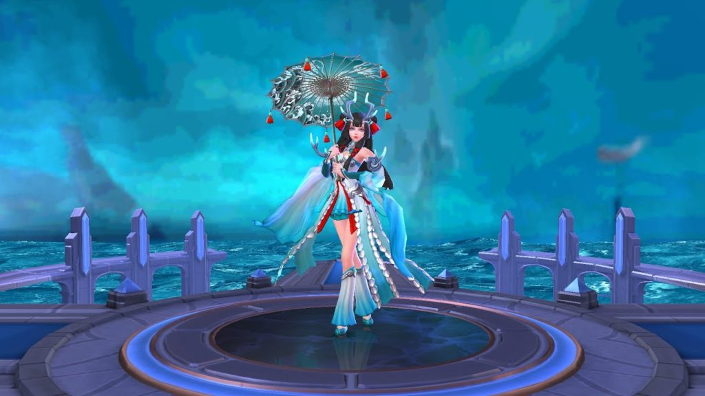 Kagura Mobile Legends hero mage