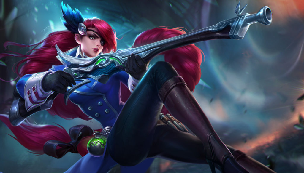 Lesley hero marksman assassin Mobile Legends Bang Bang
