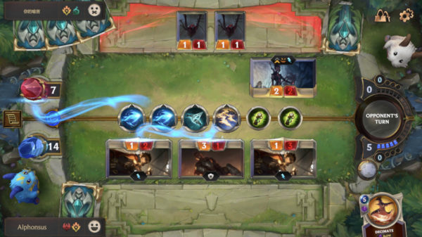 Aggro deck using spells and units to deal direct damage to Nexus Legends of Runeterra