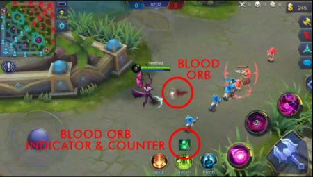 Alice Blood Orb ability Mobile Legends