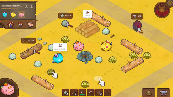 Axie Infinity how to earn Land gameplay