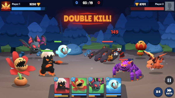 Battle feature in My DeFi Pet play to earn blockchain game