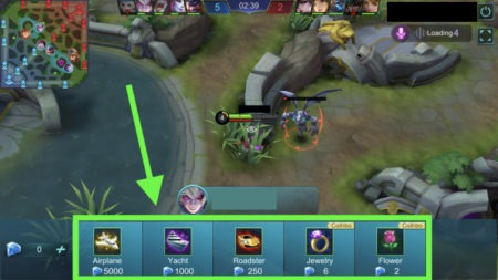 Gain Diamonds from live stream gifts in Mobile Legends