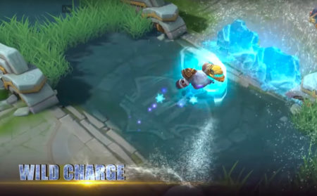 Grock Starlight Skin Wild Charge skill Mobile Legends