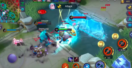 Grock Starlight Skin charge skill Mobile Legends November 2019