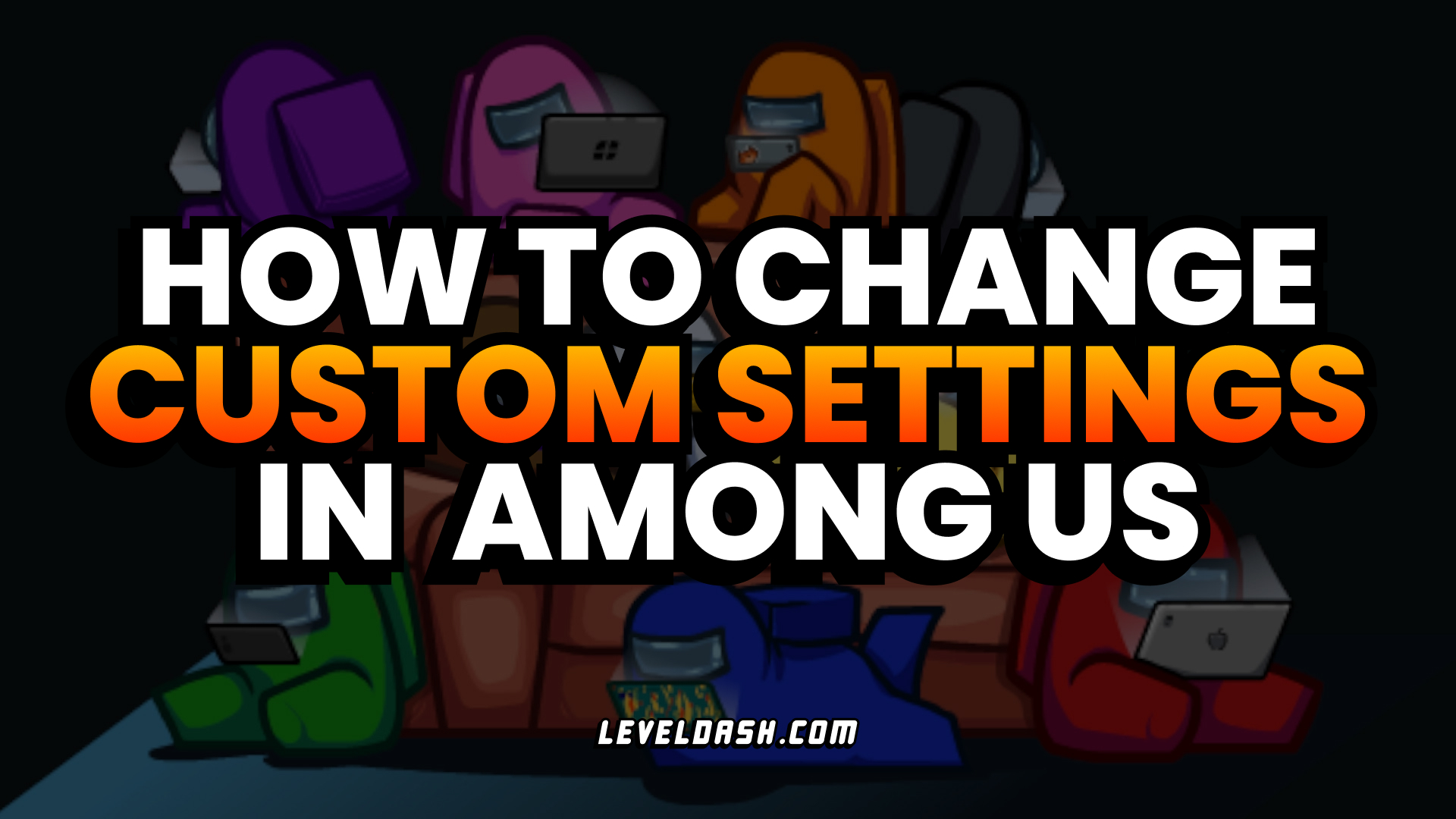 How to Change Custom Game Settings in Among Us