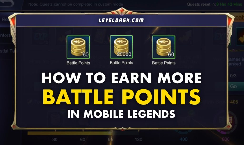 How to Earn More Battle Points in Mobile Legends