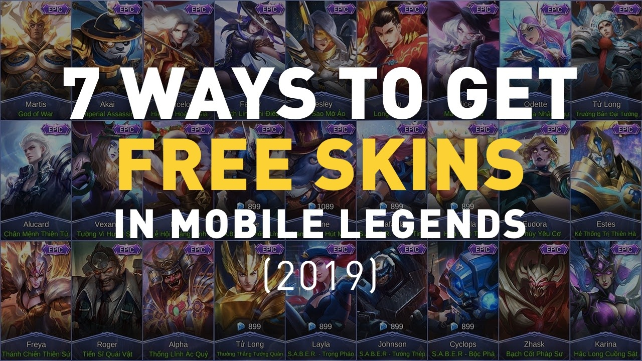 7 Easy Ways to Get Free Skins in Mobile Legends [2020]