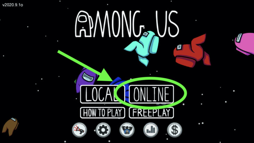 How to play with friends in Among Us online