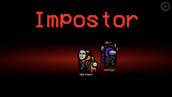 Impostors in Among Us game