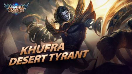 Khufra tank hero Mobile Legends