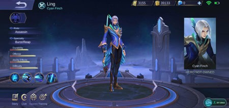 Ling Assassin hero guide item build Mobile Legends