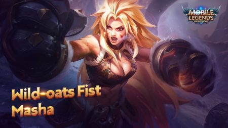 Masha Fighter hero Mobile Legends Bang Bang