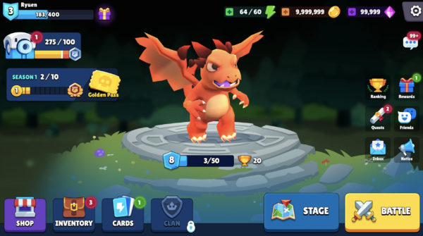 My DeFi Pet gameplay breed and evolve pet monsters