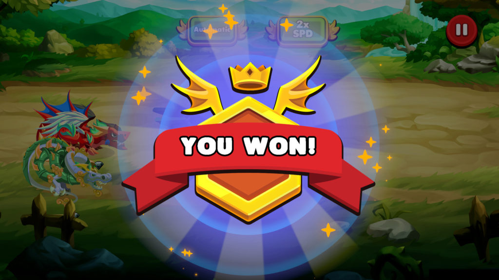 Victory in Dragonary story mission quest earn CYT Tokens