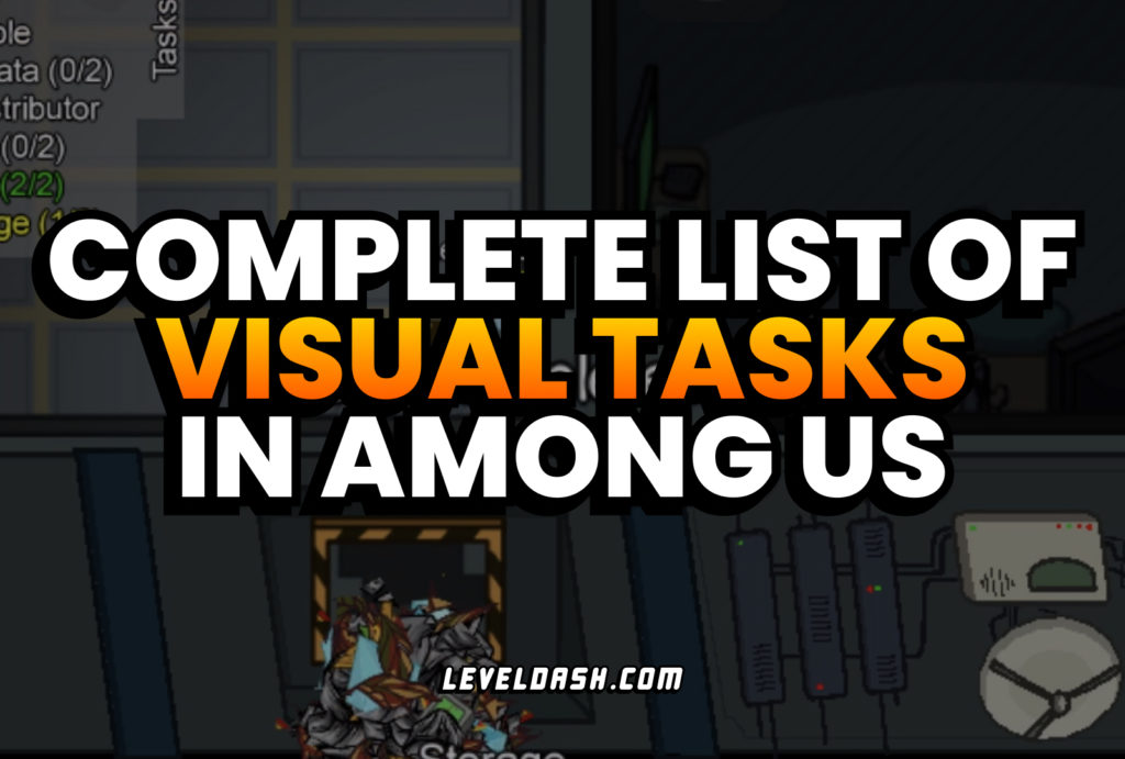 What are Visual Tasks in Among Us Complete List
