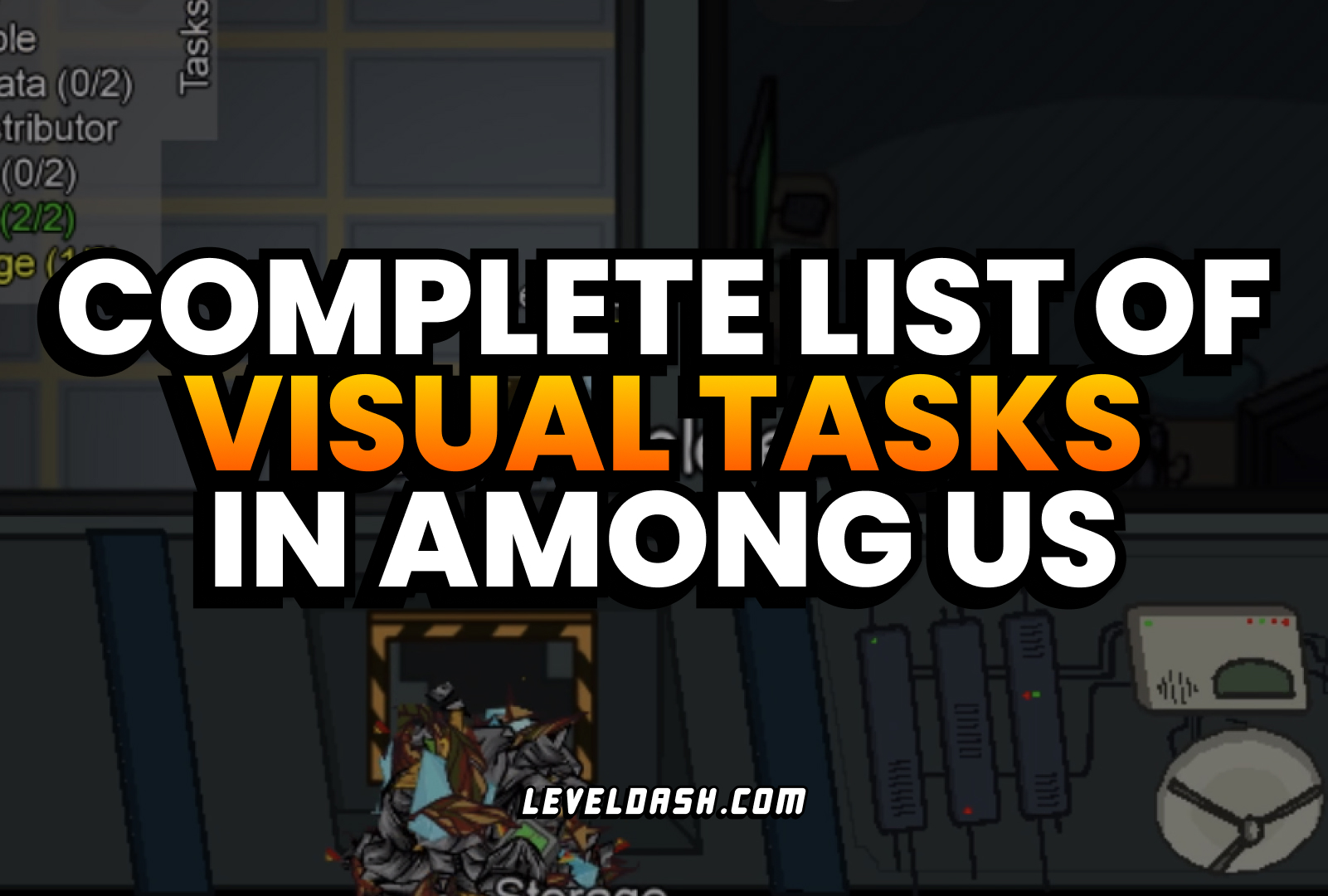 What are Visual Tasks in Among Us? (How to Eliminate Impostors Easily)