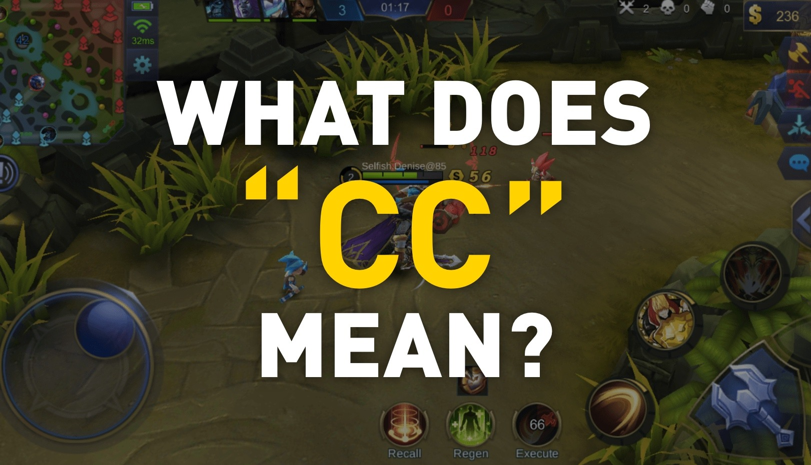 "What is ""CC"" in Mobile Legends?"