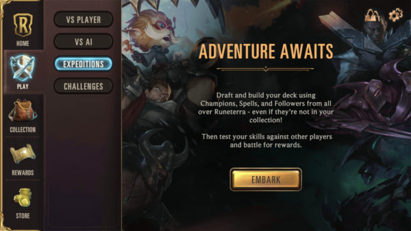 What is Expedition how it works Legends of Runeterra