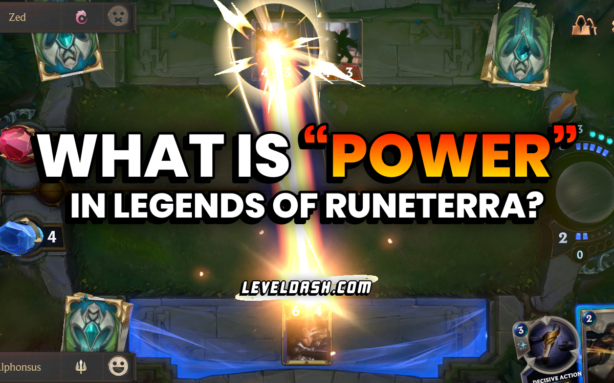 "What is ""Power"" in Legends of Runeterra?"