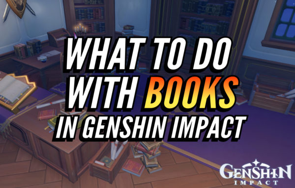 What to do with books in Genshin Impact
