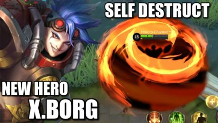 X Borg Fighter hero Mobile Legends Bang Bang
